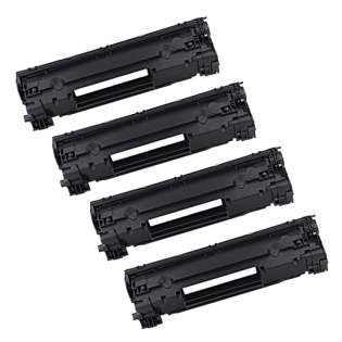 Compatible HP CF279A (79A) toner cartridge - (pack of 4)