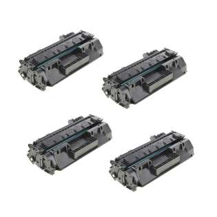 Compatible HP CF280X (80X) toner cartridges - Pack of 4