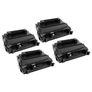Compatible HP 81A, CF281A toner cartridges (pack of 4), 10500 pages each