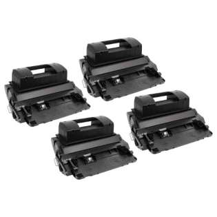 Compatible HP 81X, CF281X toner cartridges, high capacity yield (pack of 4), 25000 pages each