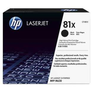 Original HP CF281X (81X) toner cartridge - high capacity yield black
