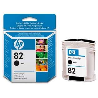 HP 82, CH565A Genuine Original (OEM) ink cartridge, black