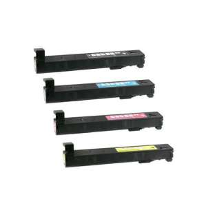 Compatible HP 827A toner cartridges - (pack of 4)