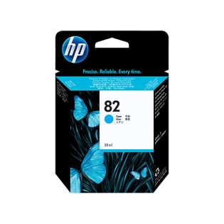 HP 82XL, C4911A Genuine Original (OEM) ink cartridge, high capacity yield, cyan