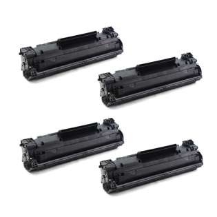 Compatible HP CF283A (83A) toner cartridges - Pack of 4