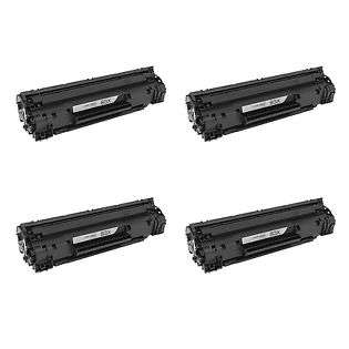Compatible HP CF283X (83X) toner cartridges - Pack of 4