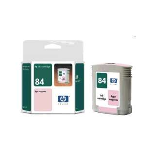 HP 84, Genuine Original (OEM) ink cartridge, light magenta