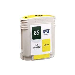 HP 85, C9427A Genuine Original (OEM) ink cartridge, yellow