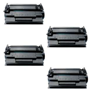 Compatible HP CF287A (87A) toner cartridges - Pack of 4