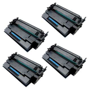 Compatible HP CF287X (87X) toner cartridges - Pack of 4
