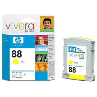 HP 88, C9388AN Genuine Original (OEM) ink cartridge, yellow