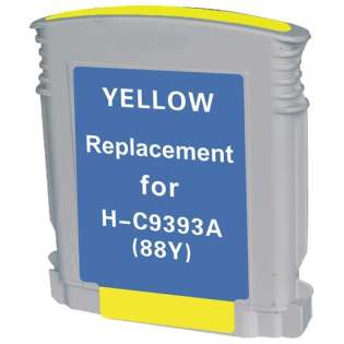Remanufactured HP C9393AN / 88XL cartridge - yellow