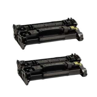 Compatible HP CF289X (89X) toner cartridge - WITHOUT CHIP - 2-pack - now at 499inks