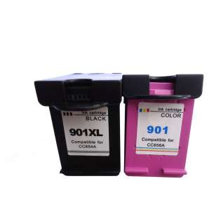 Remanufactured inkjet cartridges Multipack for HP 901XL - 2 pack