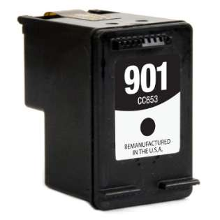 Remanufactured HP 901, CC653AN ink cartridge, black