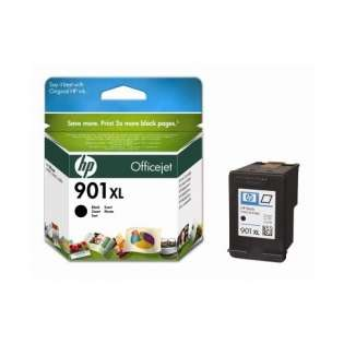 HP 901XL, CC654AN Genuine Original (OEM) ink cartridge, high capacity yield, black