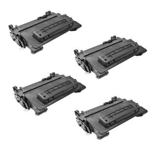 Compatible HP CE390X (90X) toner cartridges - Pack of 4