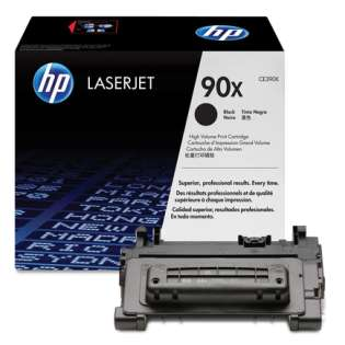 OEM HP CE390X / 90X cartridge - high capacity black
