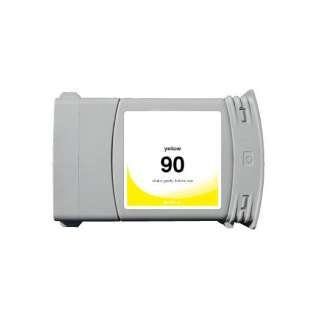 Remanufactured HP 90XL, C5065A ink cartridge, high capacity yield, yellow