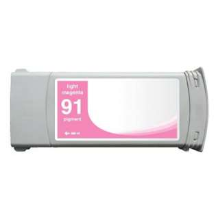 Remanufactured HP 91, C9471A ink cartridge, light magenta