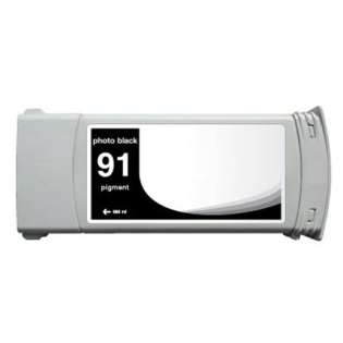 Remanufactured HP 91, C9465A ink cartridge, photo black