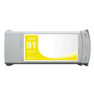 Remanufactured HP 91, C9469A ink cartridge, yellow