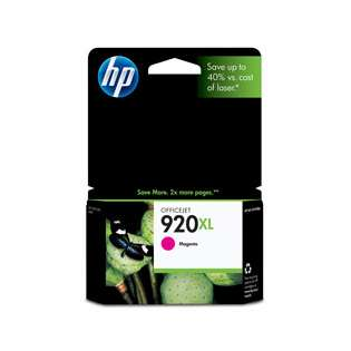 HP 920XL, CD973AN Genuine Original (OEM) ink cartridge, high capacity yield, magenta