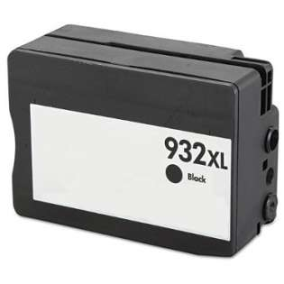 Remanufactured HP 932XL, CN053AN ink cartridge, high capacity yield, black
