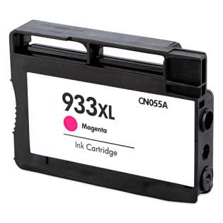 Remanufactured HP 933XL, CN055AN ink cartridge, high capacity yield, magenta