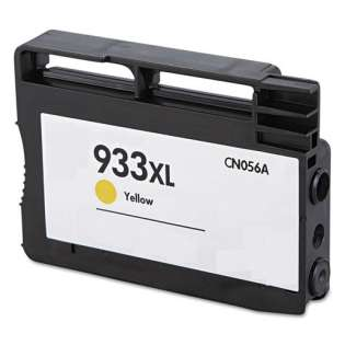 Remanufactured HP 933XL, CN056AN ink cartridge, high capacity yield, yellow