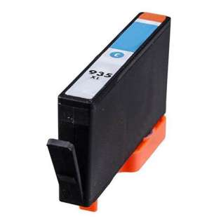 Remanufactured HP 935XL, C2P24AN ink cartridge, high capacity yield, cyan