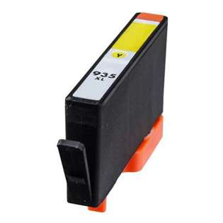 Remanufactured HP 935XL, C2P26AN ink cartridge, high capacity yield, yellow
