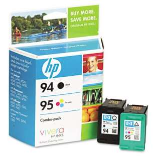 HP 94, 95, C9354FN Genuine Original (OEM) ink cartridges (pack of 2)