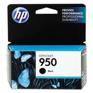 HP 950, CN049AN Genuine Original (OEM) ink cartridge, black, 1000 pages