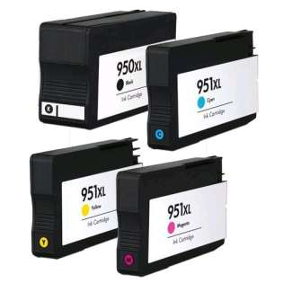 Remanufactured Multipack for HP 950XL/951XL - 4 pack (FULL INK LEVEL SHOWN)