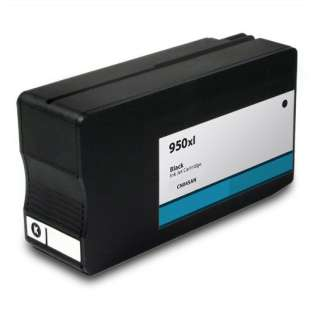 Premium HP 950XL, CN045AN ink cartridge, USA made, high capacity yield, black, 2300 pages