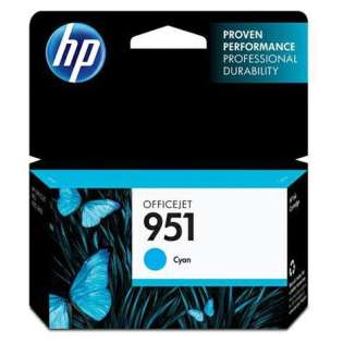 HP 951, CN050AN Genuine Original (OEM) ink cartridge, cyan, 700 pages