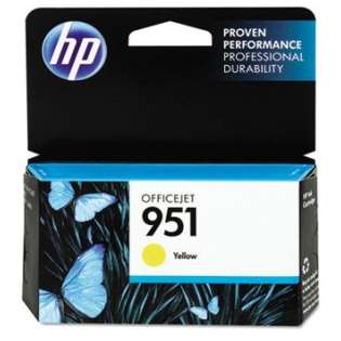HP 951, CN052AN Genuine Original (OEM) ink cartridge, yellow, 700 pages