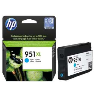 HP 951XL, CN046AN Genuine Original (OEM) ink cartridge, high capacity yield, cyan, 1500 pages