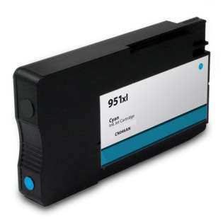 Premium HP 951XL, CN046AN ink cartridge, USA made, high capacity yield, cyan, 1500 pages