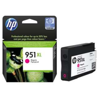 HP 951XL, CN047AN Genuine Original (OEM) ink cartridge, high capacity yield, magenta, 1500 pages