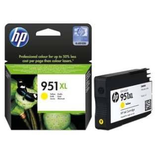 HP 951XL, CN048AN Genuine Original (OEM) ink cartridge, high capacity yield, yellow, 1500 pages