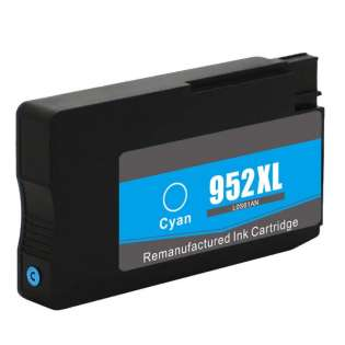 Remanufactured HP L0S61AN (HP 952XL) ink cartridge - high capacity cyan