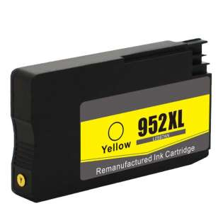 Remanufactured HP L0S67AN (HP 952XL) ink cartridge - high capacity yellow