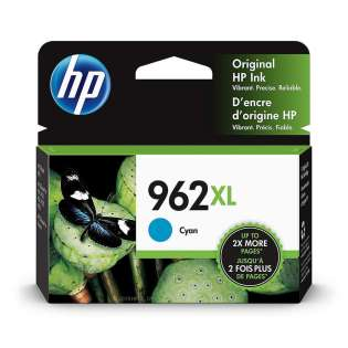 Original HP 3JA00AN (HP 962XL) inkjet cartridge - high capacity cyan - now at 499inks