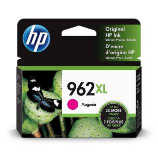 Original HP 3JA01AN (HP 962XL) inkjet cartridge - high capacity magenta - now at 499inks
