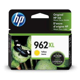 Original HP 3JA02AN (HP 962XL) inkjet cartridge - high capacity yellow - now at 499inks