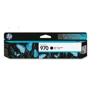 HP 970, CN621AM Genuine Original (OEM) ink cartridge, black, 3000 pages