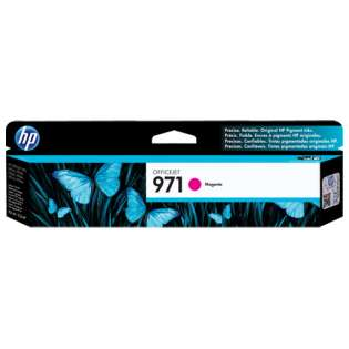 HP 971, CN623AM Genuine Original (OEM) ink cartridge, magenta, 2500 pages