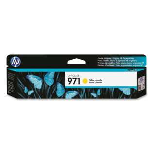 HP 971, CN624AM Genuine Original (OEM) ink cartridge, yellow, 2500 pages